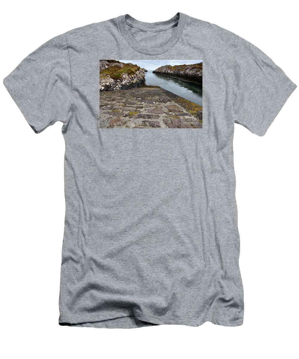 Cuan Ireland Men's T-Shirt (Athletic Fit) featuring the photograph The Dingle Peninsula by Smart Aviation