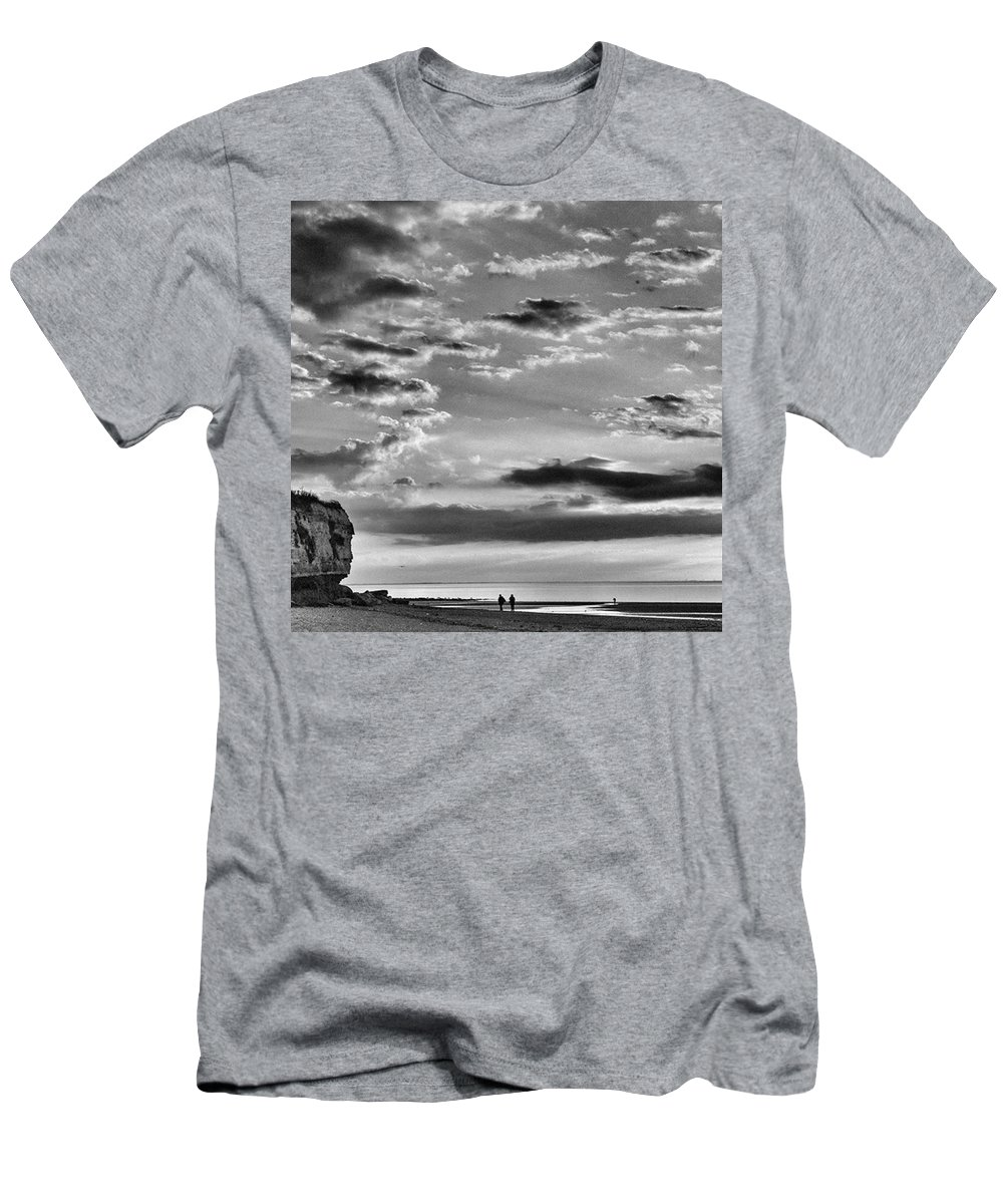 Natureonly T-Shirt featuring the photograph The End Of The Day, Old Hunstanton by John Edwards