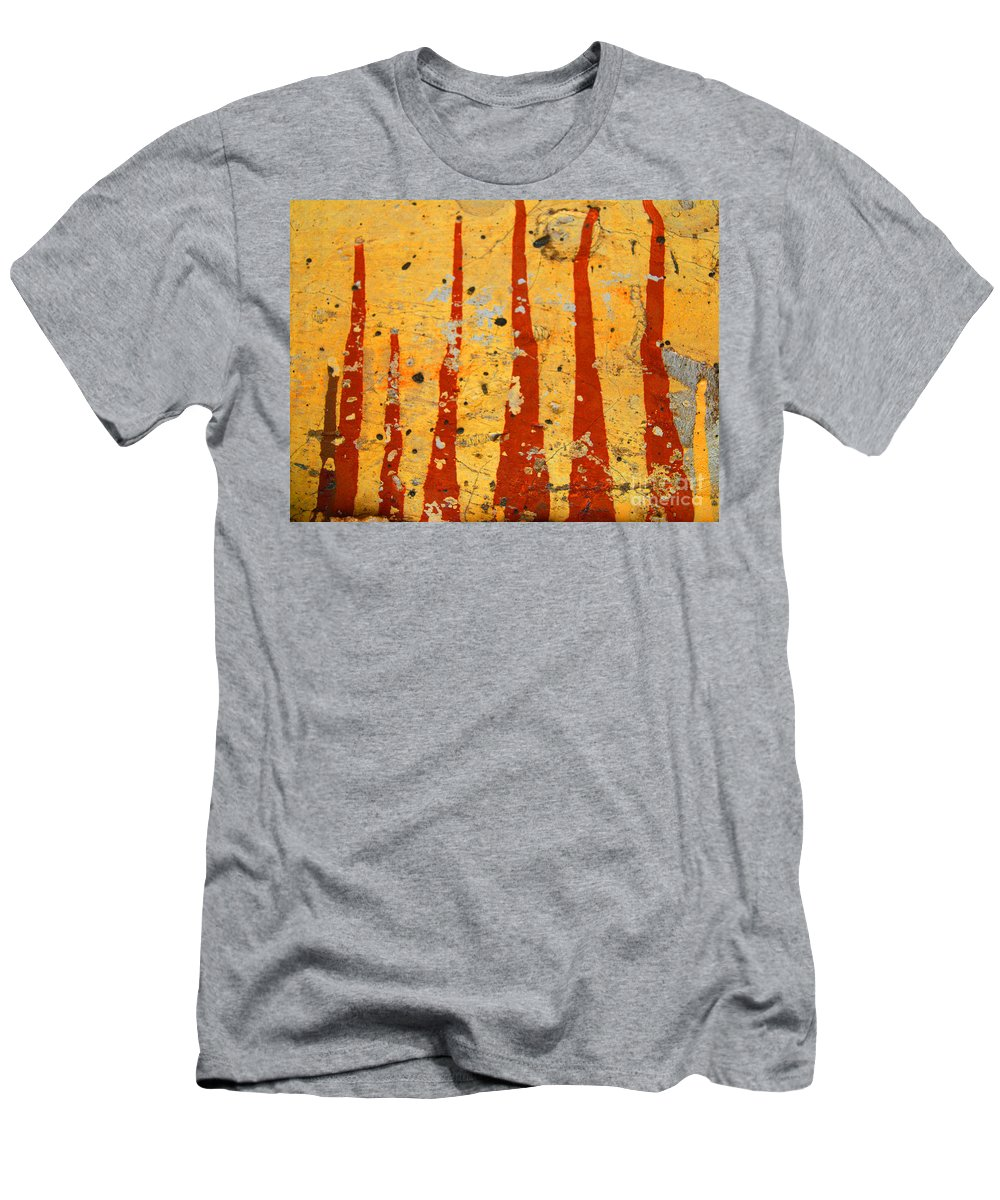 Paint Men's T-Shirt (Athletic Fit) featuring the photograph The Fire by Tara Turner