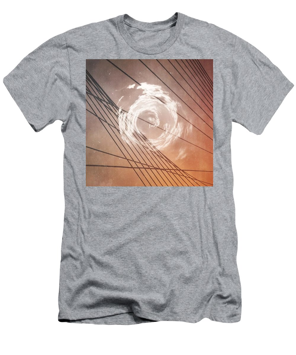Lines T-Shirt featuring the photograph The Heart And The Mind So Rarely Agree by Bob Hedlund