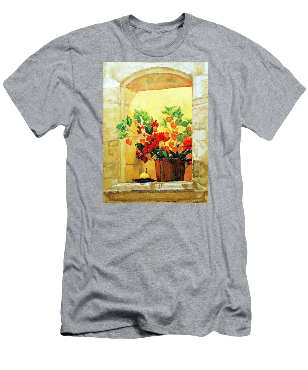 Still Life T-Shirt featuring the painting The light by Iliyan Bozhanov