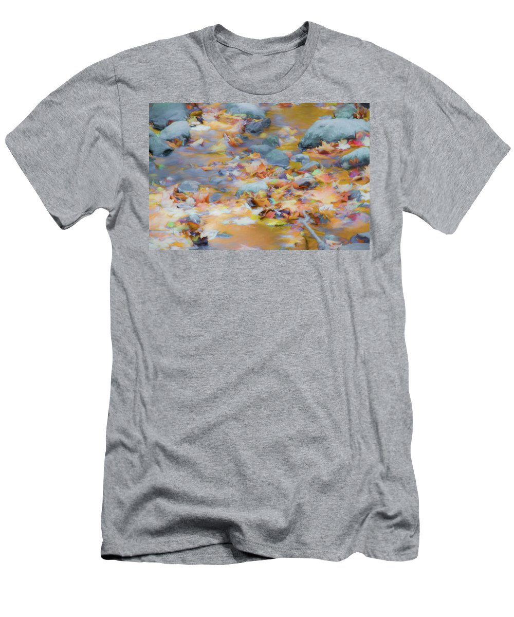 Abstracts T-Shirt featuring the photograph The Lightness of Autumn by Marilyn Cornwell