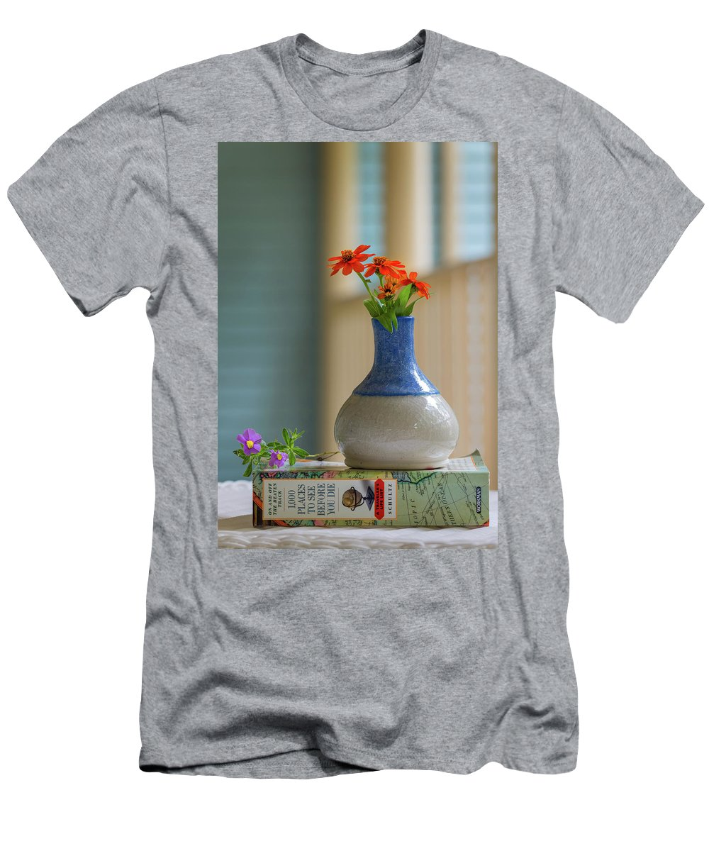 Photograph Men's T-Shirt (Athletic Fit) featuring the photograph The Little Vase by Cindy Lark Hartman