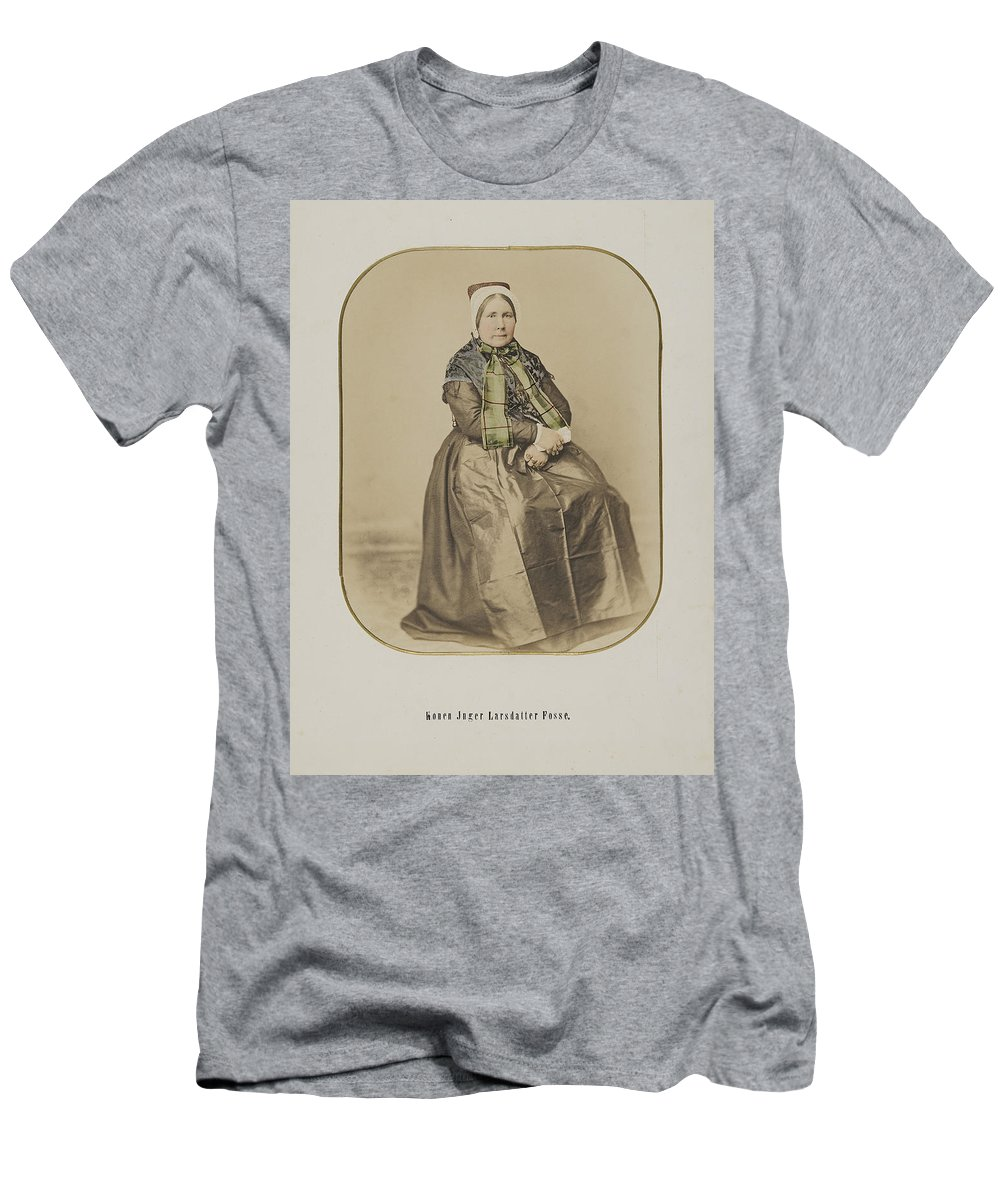 The Married Woman Men's T-Shirt (Athletic Fit) featuring the painting The Married Woman by MotionAge Designs