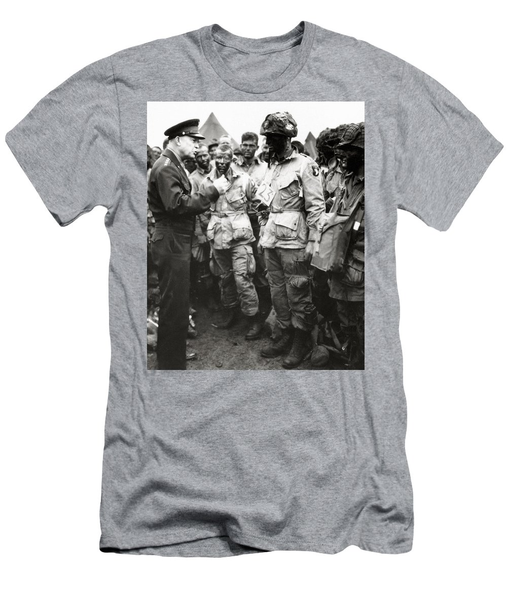 979f723fa World War Two Men's T-Shirt (Athletic Fit) featuring the photograph The Men