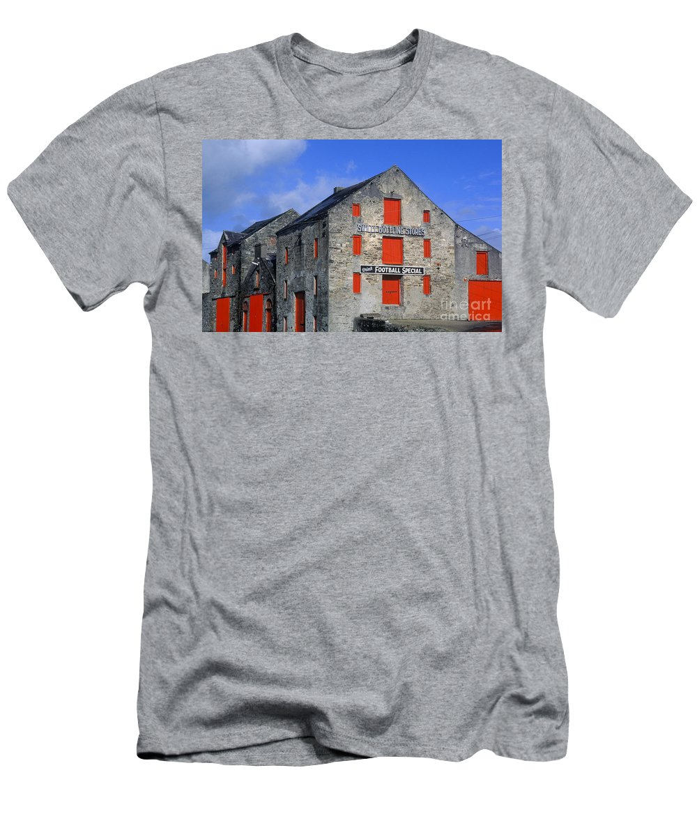 County Donegal Men's T-Shirt (Athletic Fit) featuring the photograph The Quays by John Greim