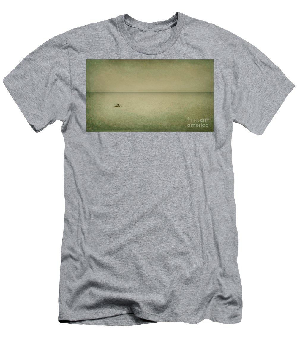 Sea Men's T-Shirt (Athletic Fit) featuring the photograph The Recesses Of The Deep by Dana DiPasquale