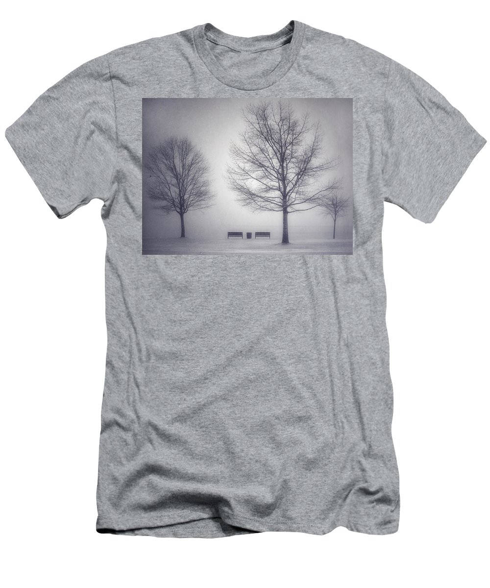 Photography Men's T-Shirt (Athletic Fit) featuring the photograph The Soft Breath Of Winter by Tara Turner