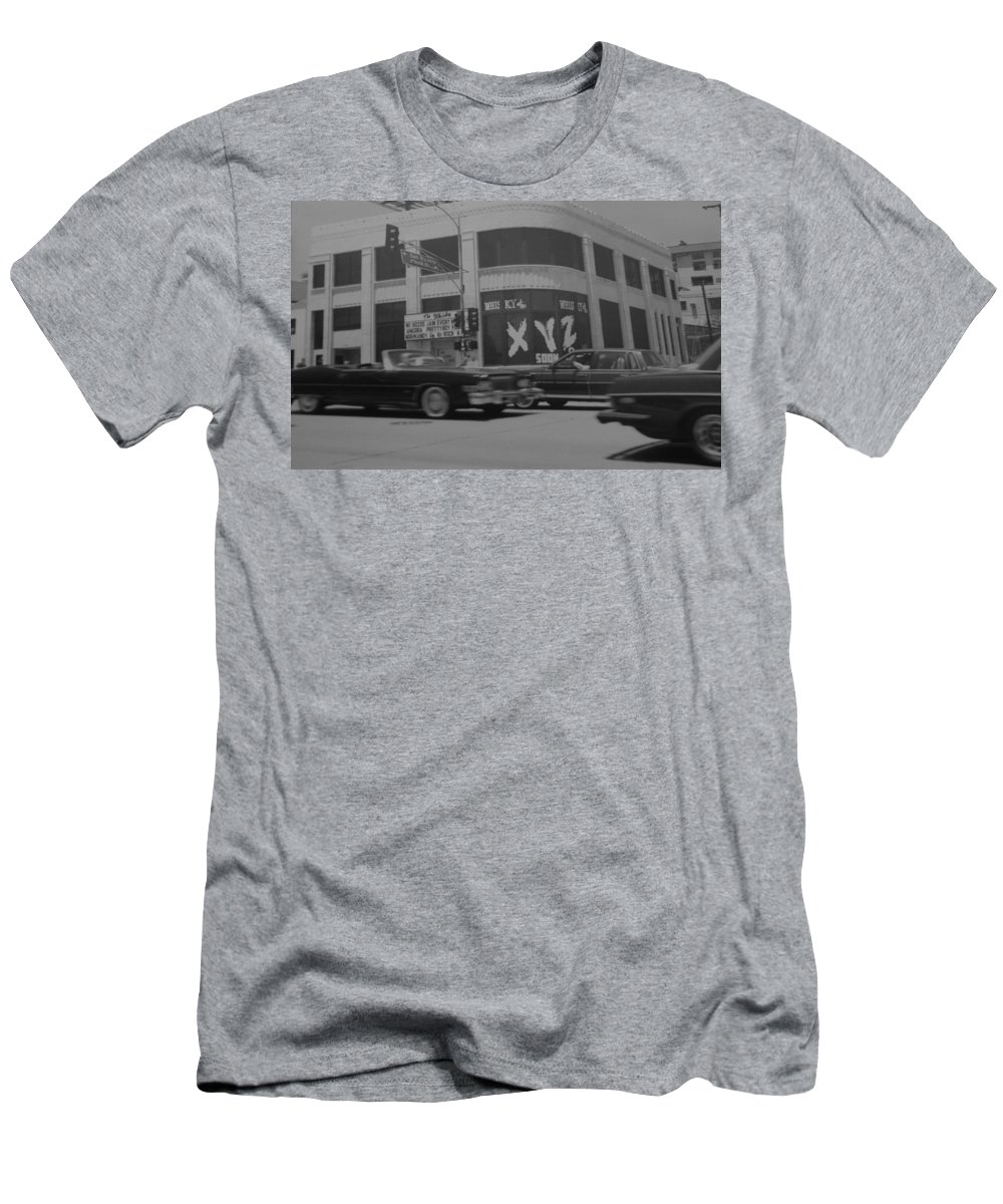 Black And White Men's T-Shirt (Athletic Fit) featuring the photograph The Whiskey In Black And White by Rob Hans