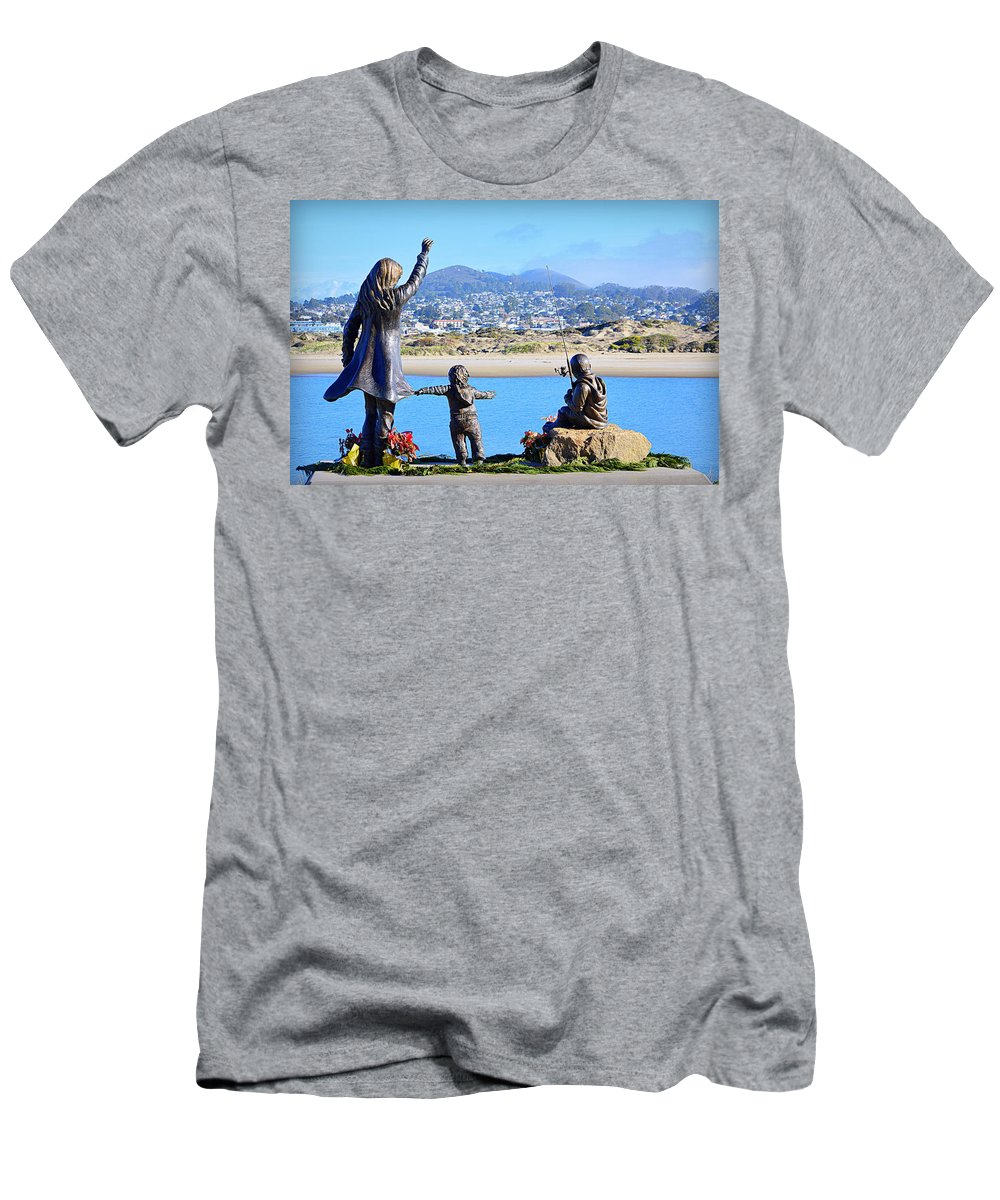 Scenic Men's T-Shirt (Athletic Fit) featuring the photograph Those Who Wait by AJ Schibig
