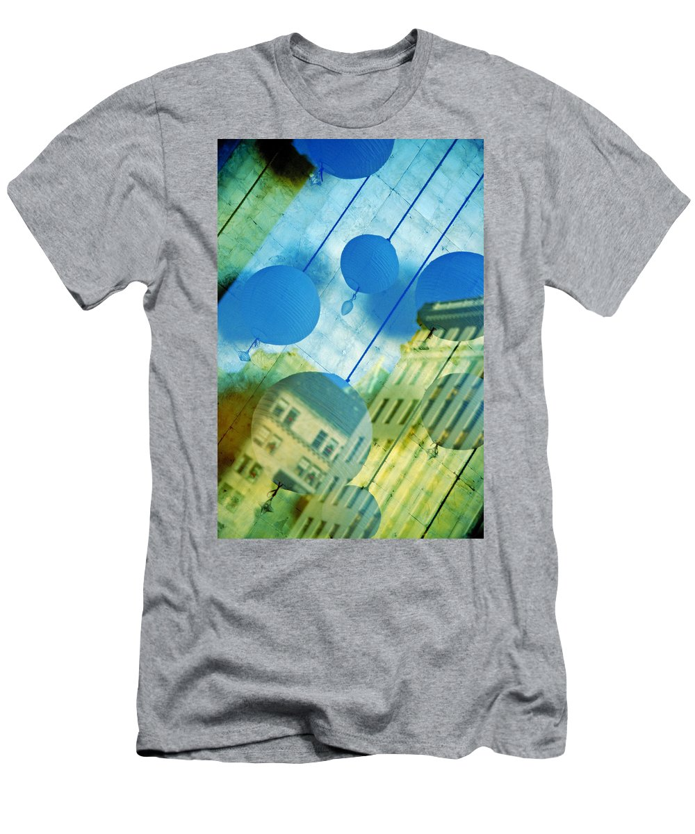 New York Men's T-Shirt (Athletic Fit) featuring the photograph Tiffanys by Skip Hunt