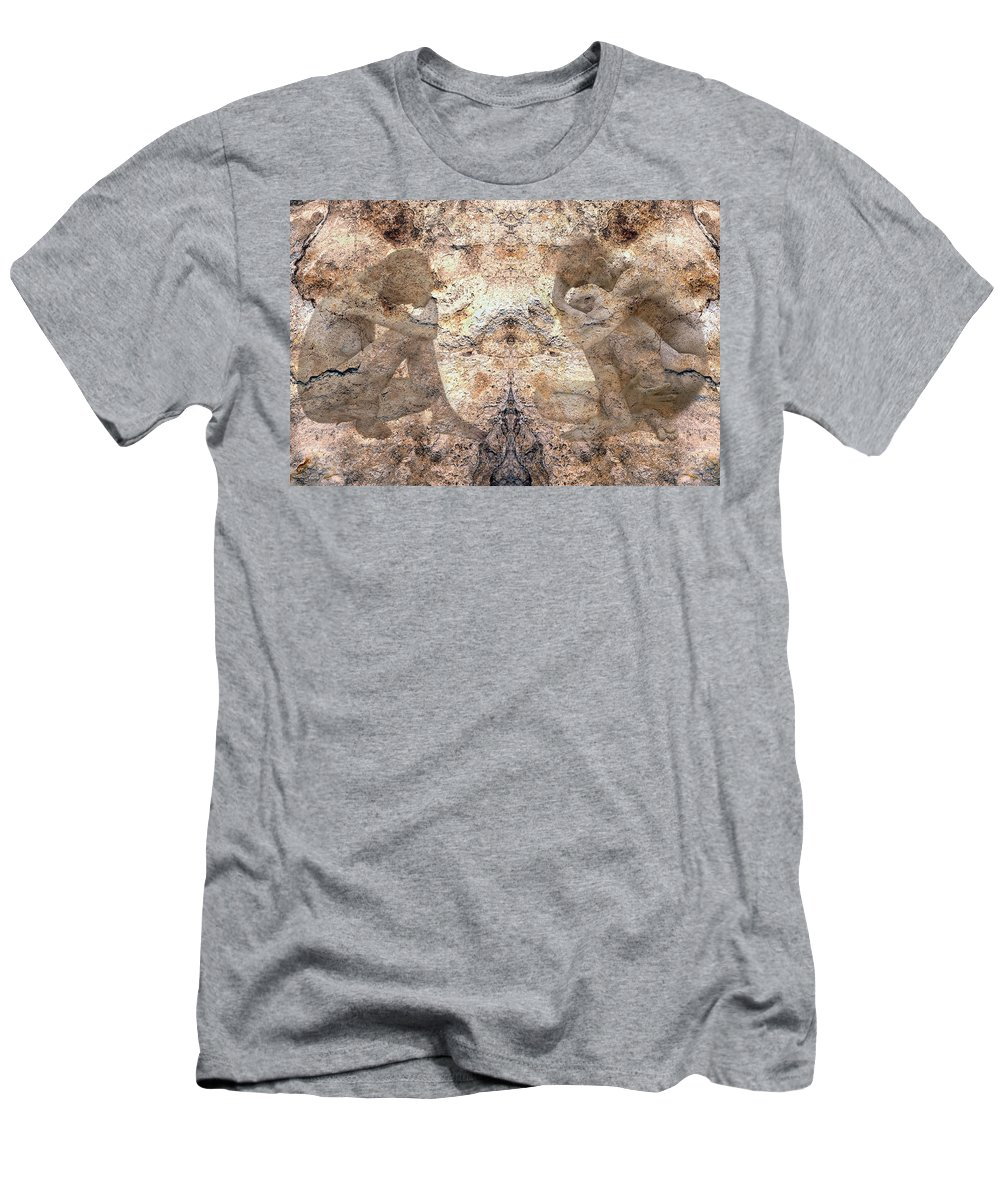 Nudes Men's T-Shirt (Athletic Fit) featuring the photograph Timeless by Kurt Van Wagner