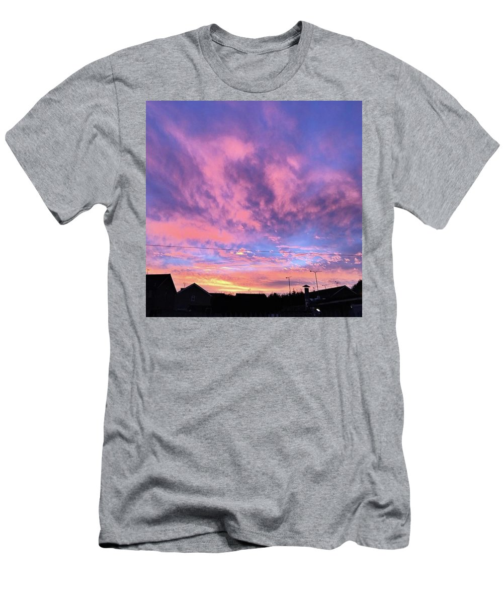 Natureonly T-Shirt featuring the photograph Tonight's Sunset Over Tesco :) #view by John Edwards