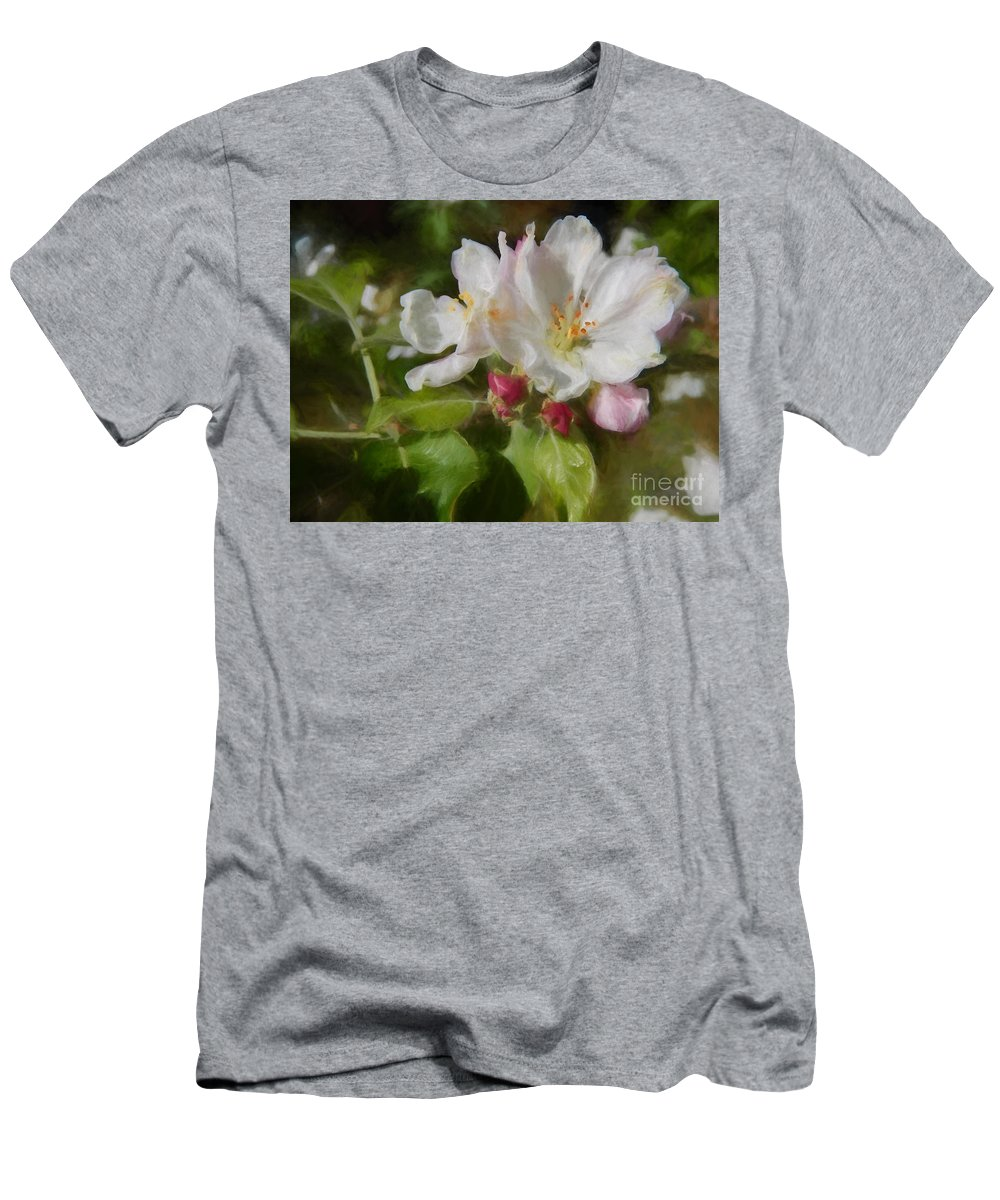 North Carolina Men's T-Shirt (Athletic Fit) featuring the photograph Touch Of Spring by Kelley Freel-Ebner