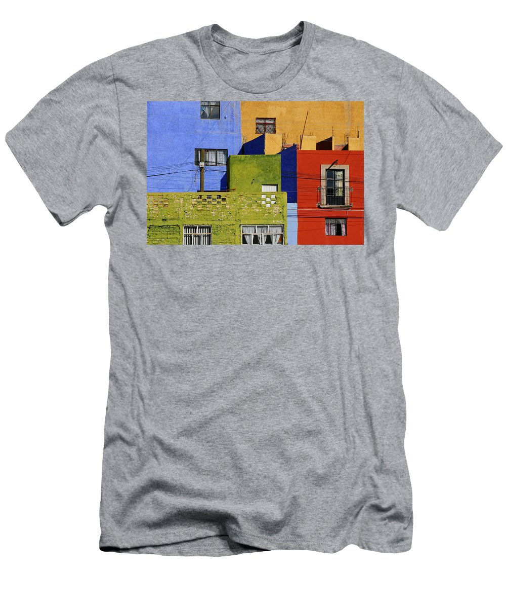 Skip Hunt Men's T-Shirt (Athletic Fit) featuring the photograph Toy Box by Skip Hunt
