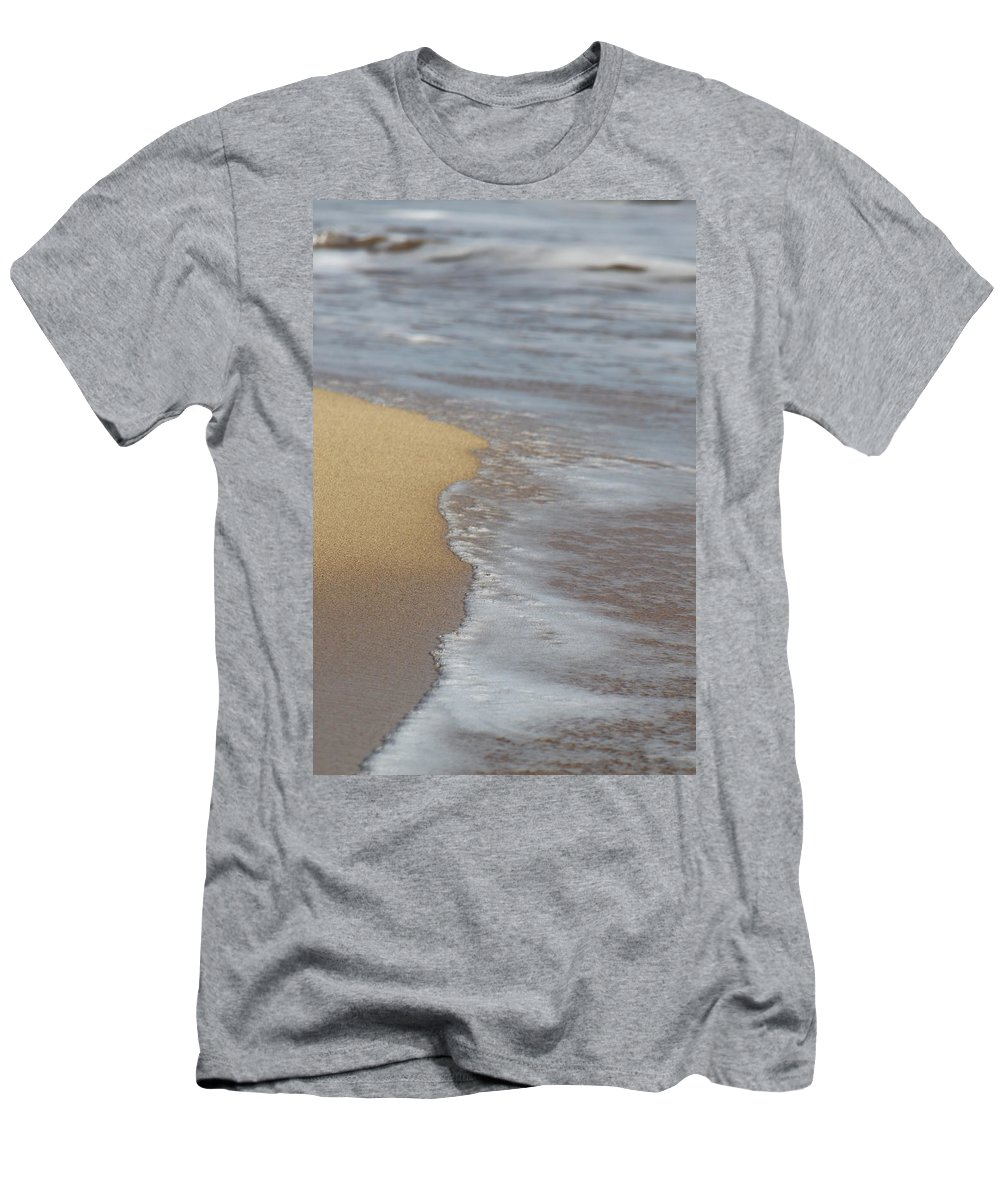 Sand Men's T-Shirt (Athletic Fit) featuring the photograph Tranquil by Lauri Novak
