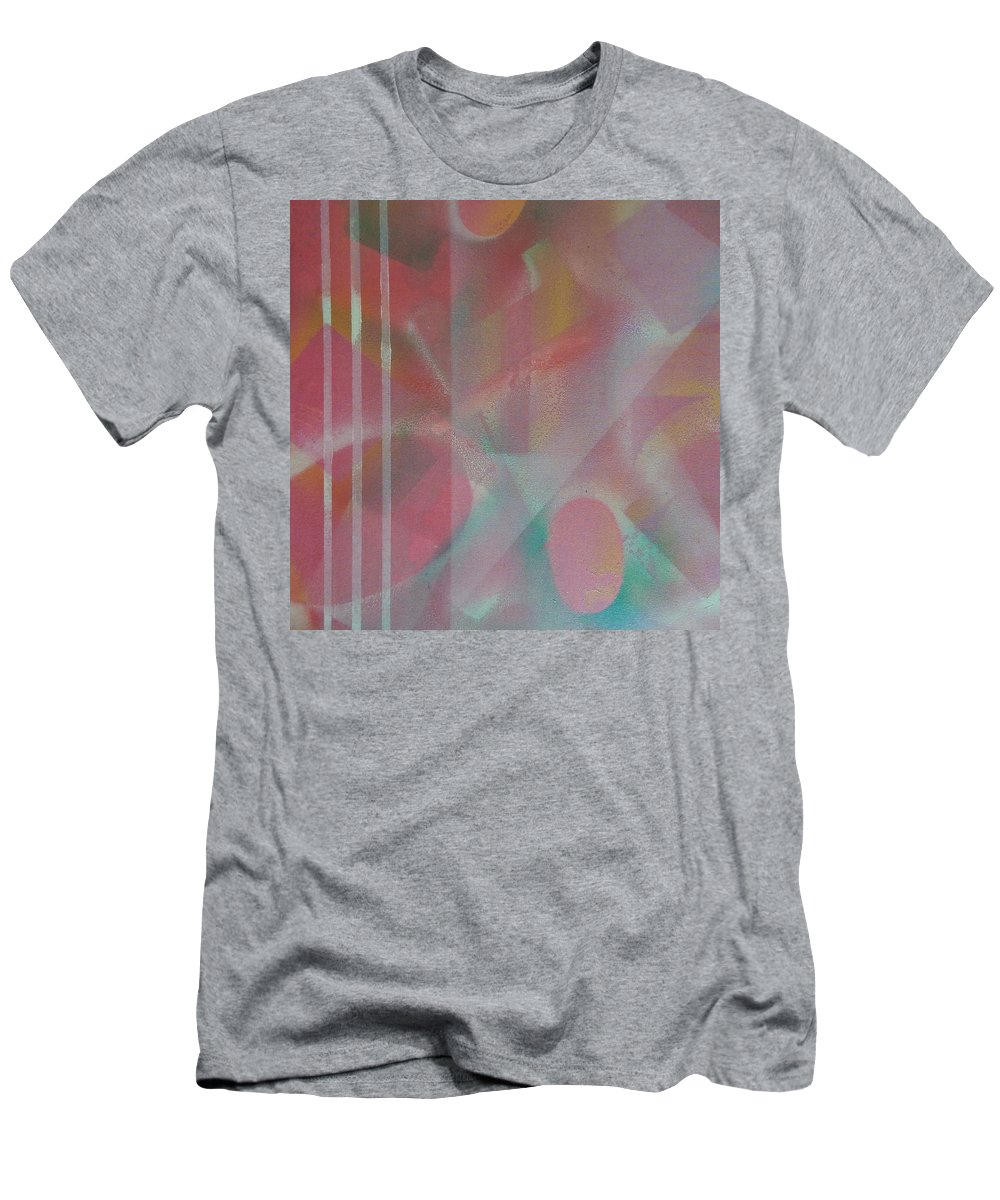 Abstract Men's T-Shirt (Athletic Fit) featuring the photograph Transition 2 by Richard Cooper