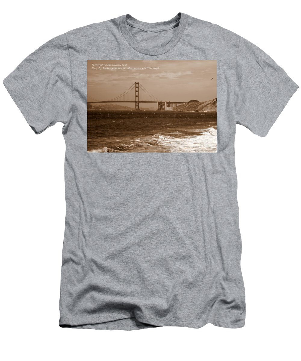 Photographers Men's T-Shirt (Athletic Fit) featuring the photograph Treasure Hunt Poster by Carol Groenen