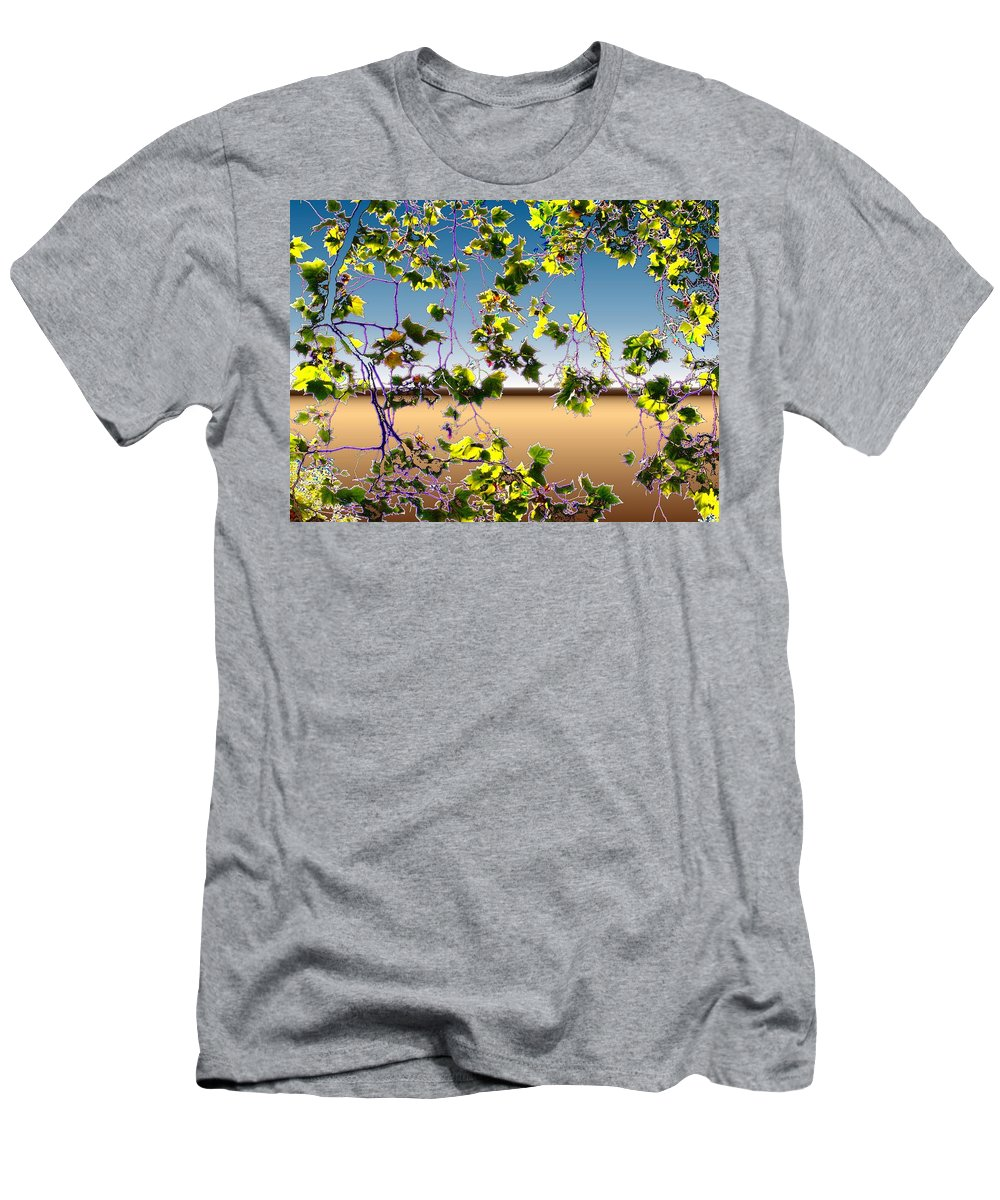 Tree Men's T-Shirt (Athletic Fit) featuring the photograph Tree Leaves by Tim Allen