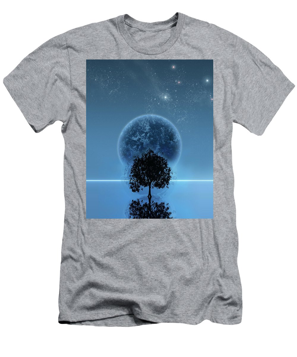 Graphic Design T-Shirt featuring the digital art Tree Of Life by Andreas Leonidou