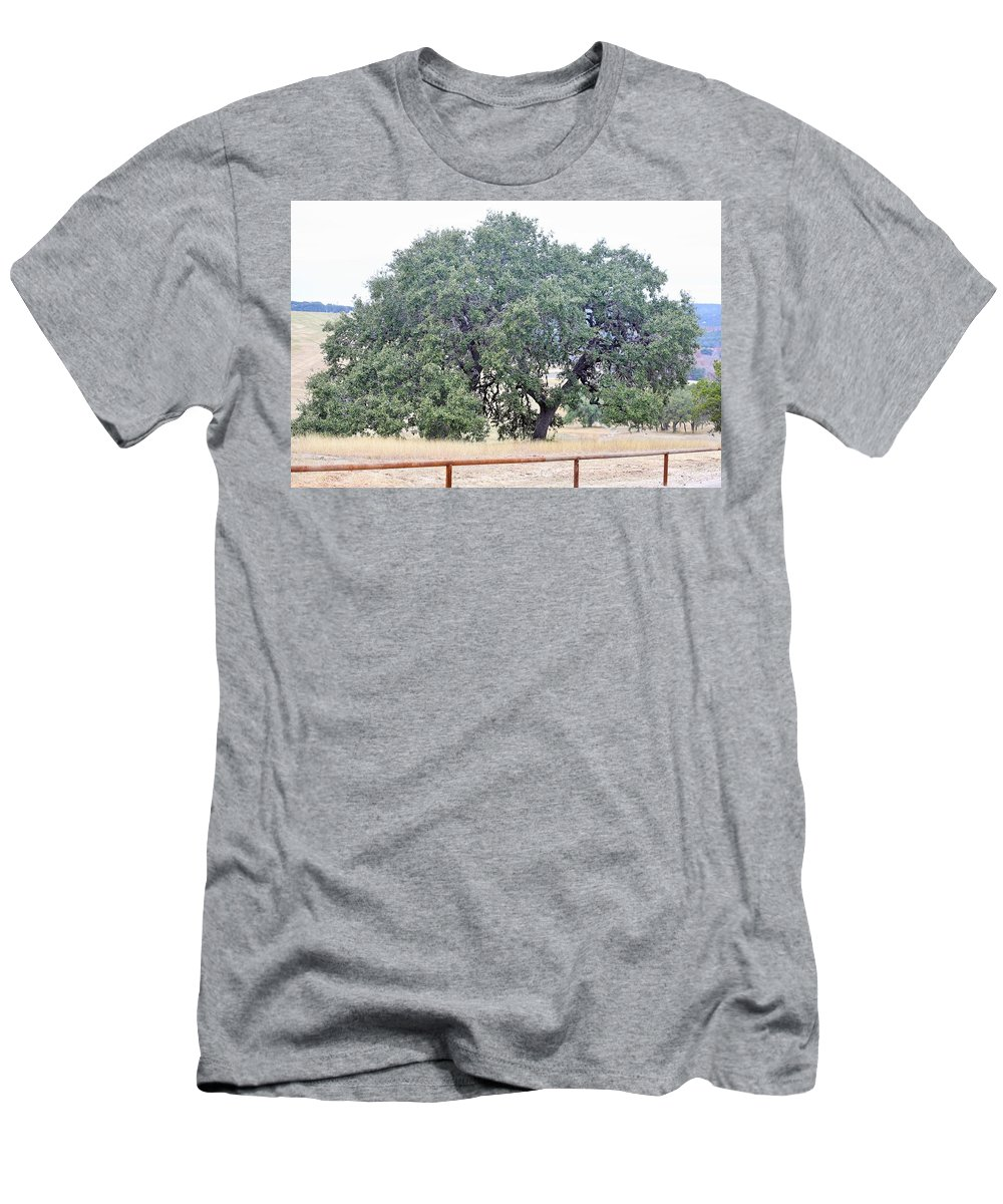 Men's T-Shirt (Athletic Fit) featuring the photograph Trees 006 by Jeff Downs