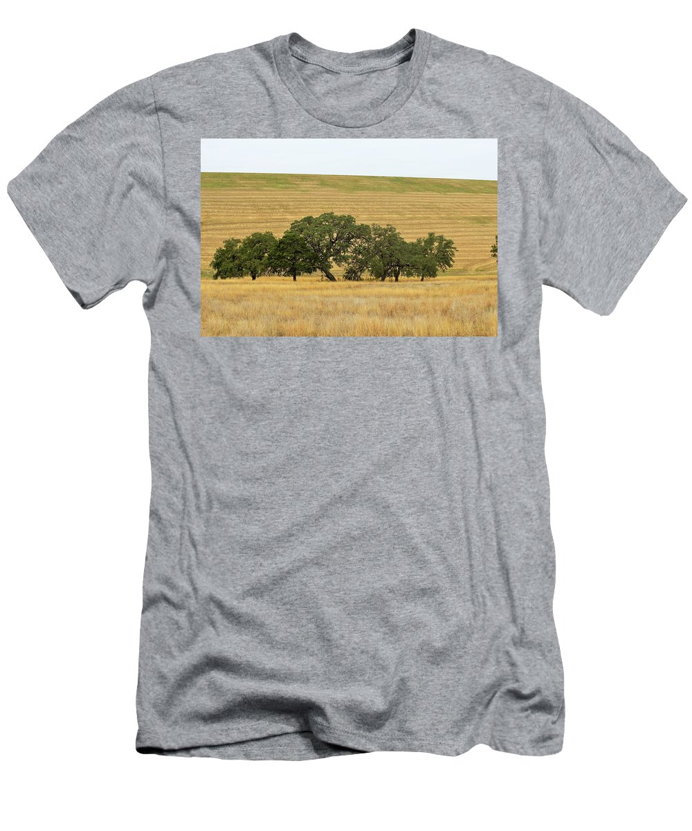Men's T-Shirt (Athletic Fit) featuring the photograph Trees 007 by Jeff Downs