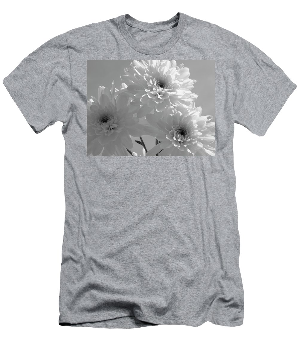 Nature Men's T-Shirt (Athletic Fit) featuring the photograph Trio by Shannon Turek