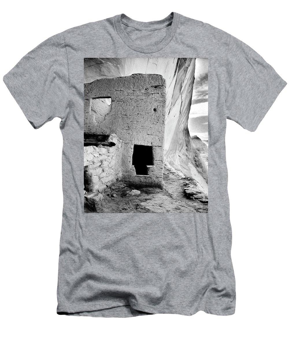 Hopi Men's T-Shirt (Athletic Fit) featuring the photograph Tsu'ovi by Lyle Balenquah