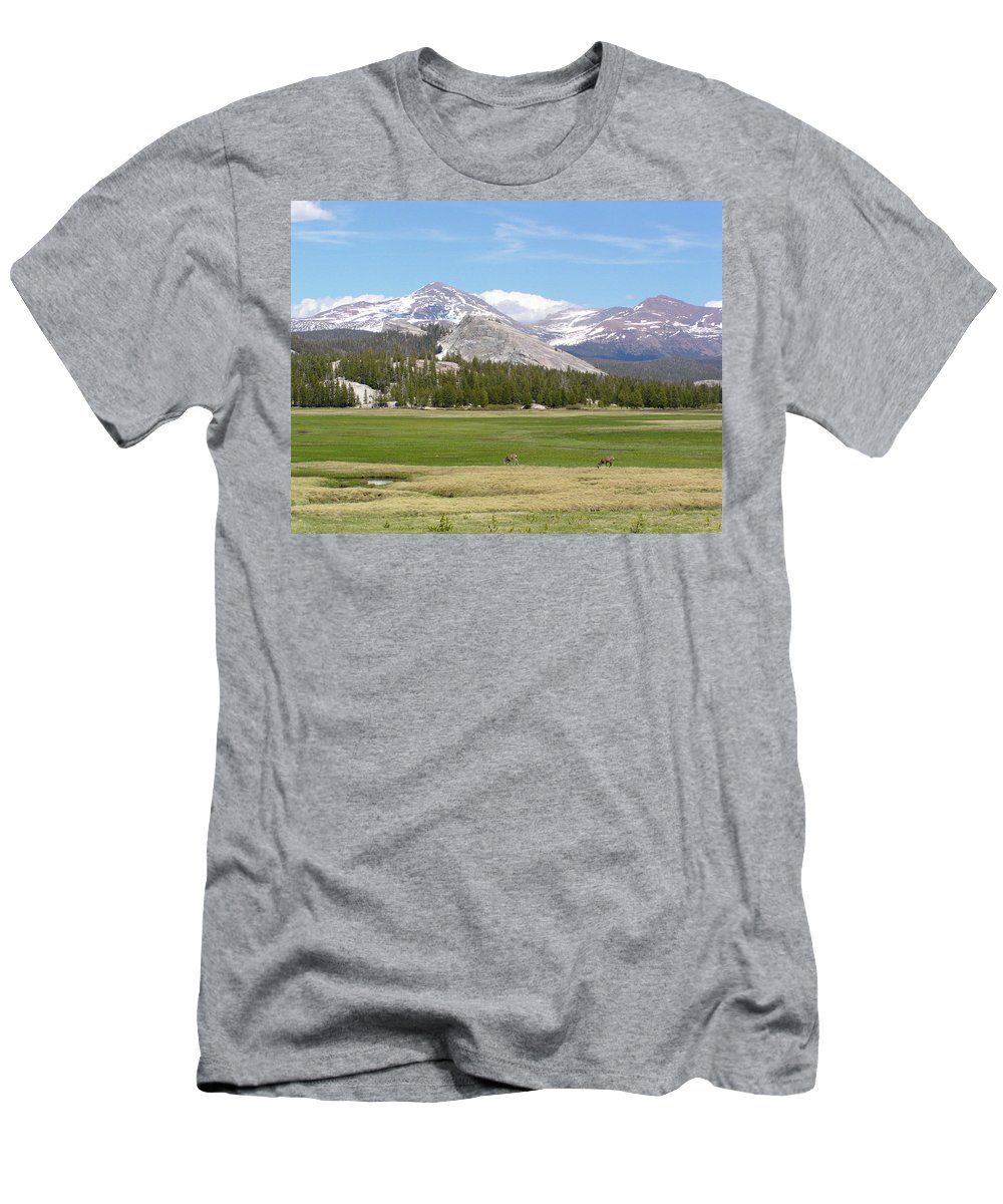 Tuolumne Meadows Men's T-Shirt (Athletic Fit) featuring the photograph Tuolumne Meadows by Bruce