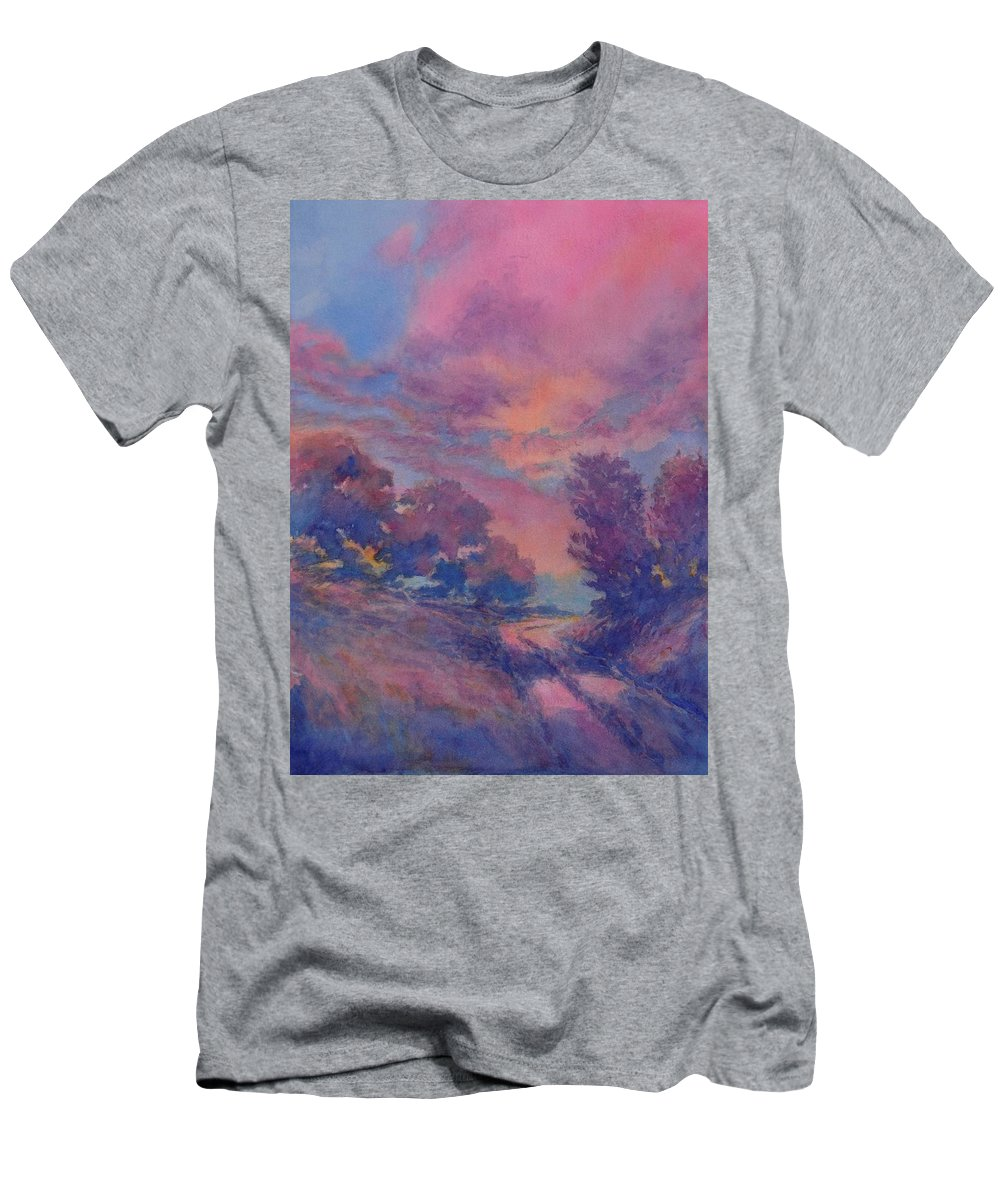 Landscape T-Shirt featuring the painting Twilight Time, No. 2 by Virgil Carter