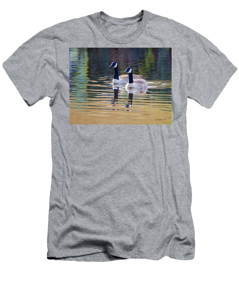 2d Men's T-Shirt (Athletic Fit) featuring the photograph Two Of A Kind by Brian Wallace
