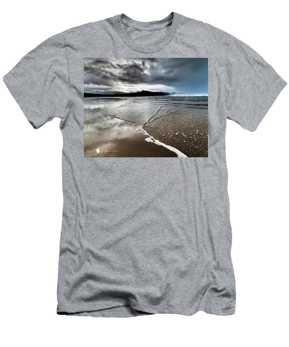 Beach T-Shirt featuring the photograph Two Skies by Stephanie McGuire