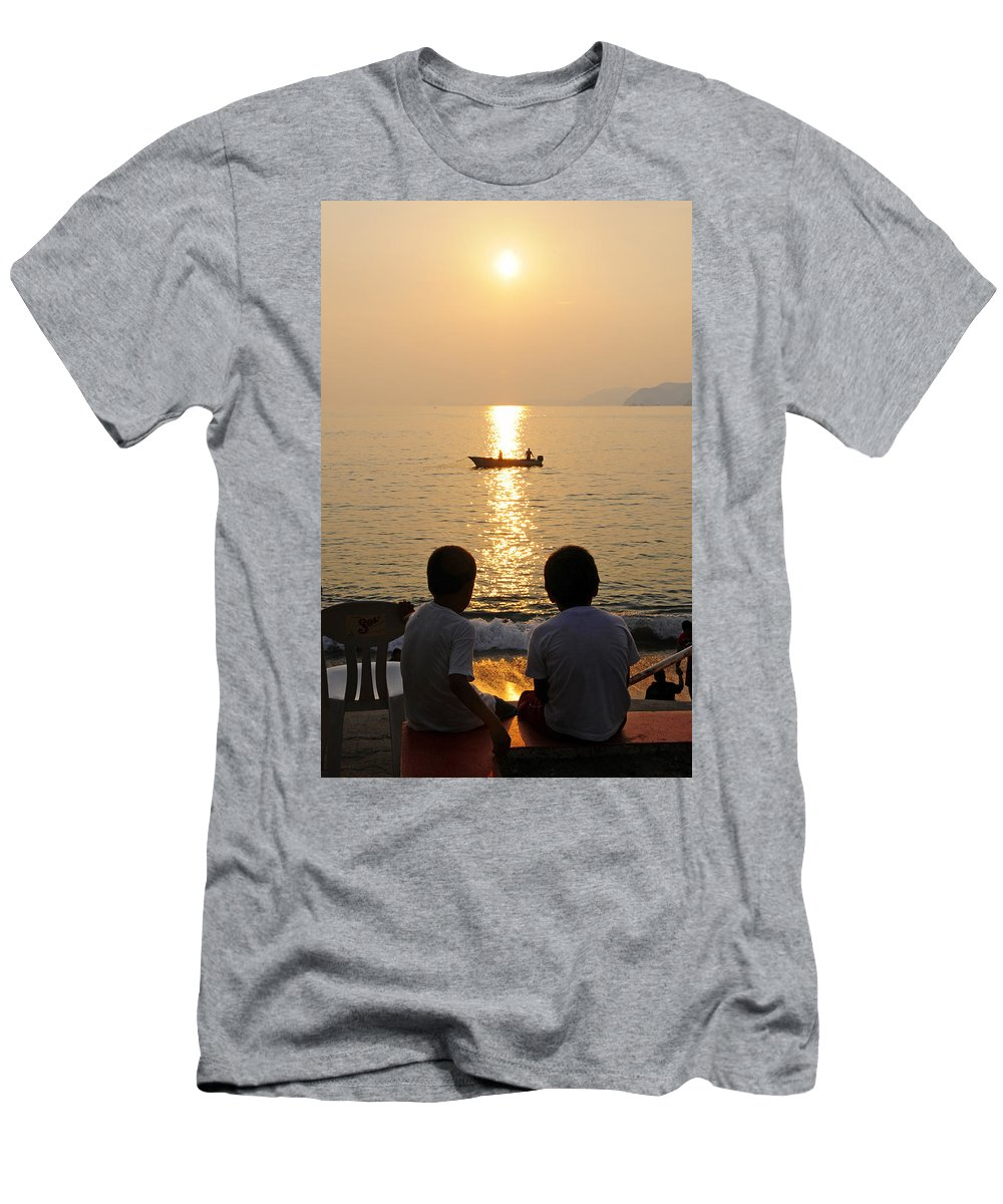 Skip Hunt Men's T-Shirt (Athletic Fit) featuring the photograph Twofer by Skip Hunt