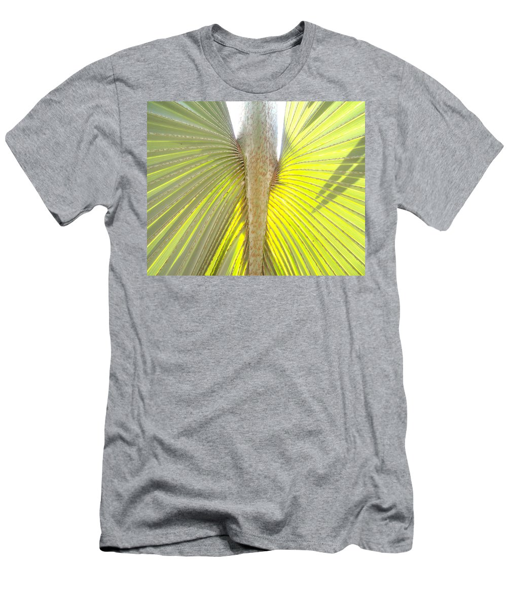 Florida Men's T-Shirt (Athletic Fit) featuring the photograph Under The Palm II Gp by Chris Andruskiewicz