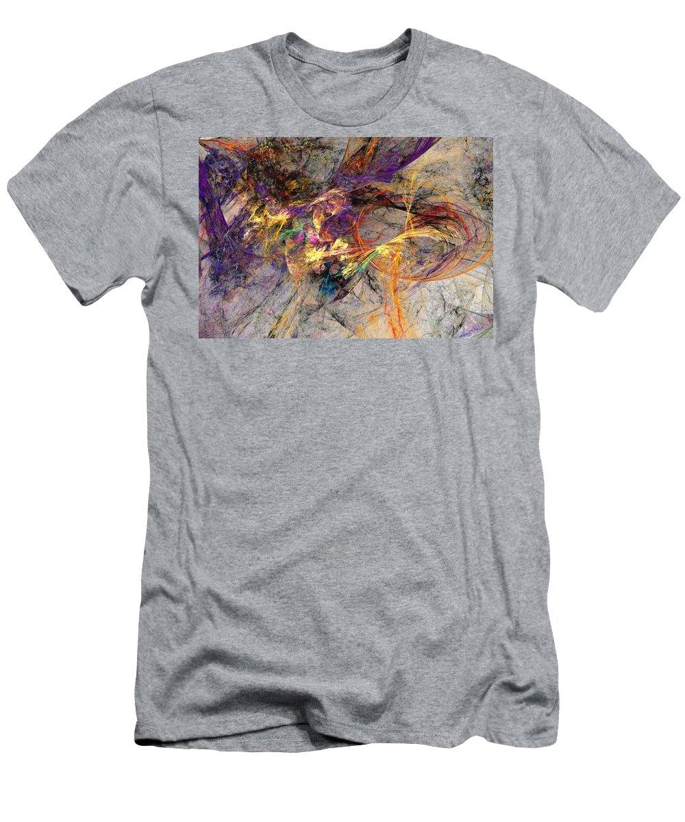 Digital Painting Men's T-Shirt (Athletic Fit) featuring the digital art Untitled 01-14-10 by David Lane