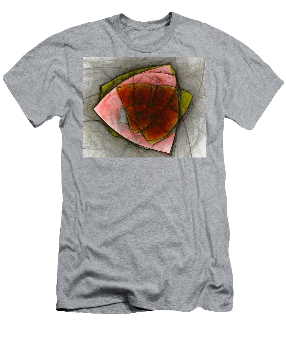 Digital Painting Men's T-Shirt (Athletic Fit) featuring the digital art Untitled 01-23-10-a by David Lane