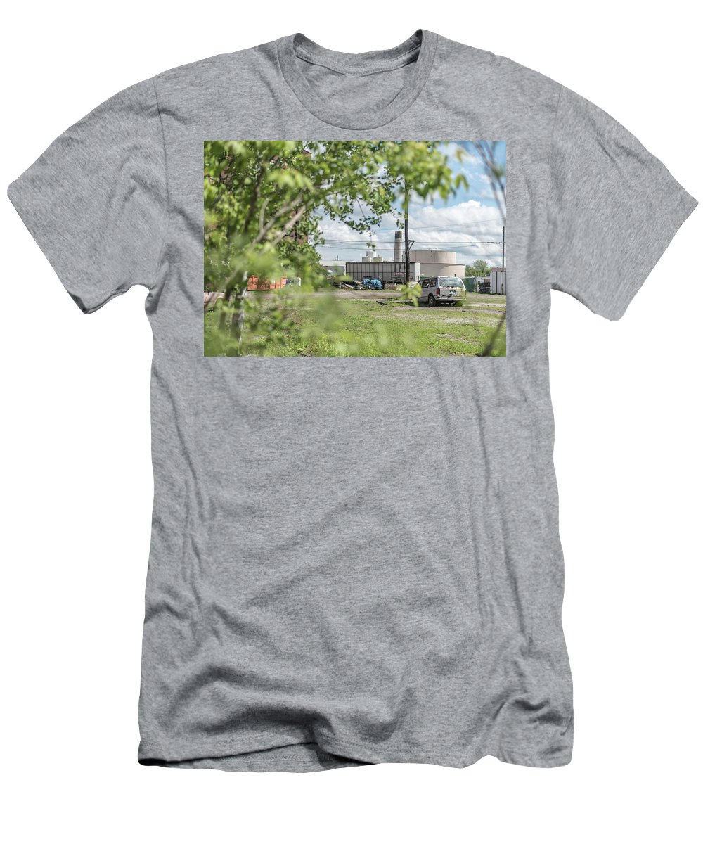 Men's T-Shirt (Athletic Fit) featuring the photograph Urban Decay 1 by Gabe Jacobs