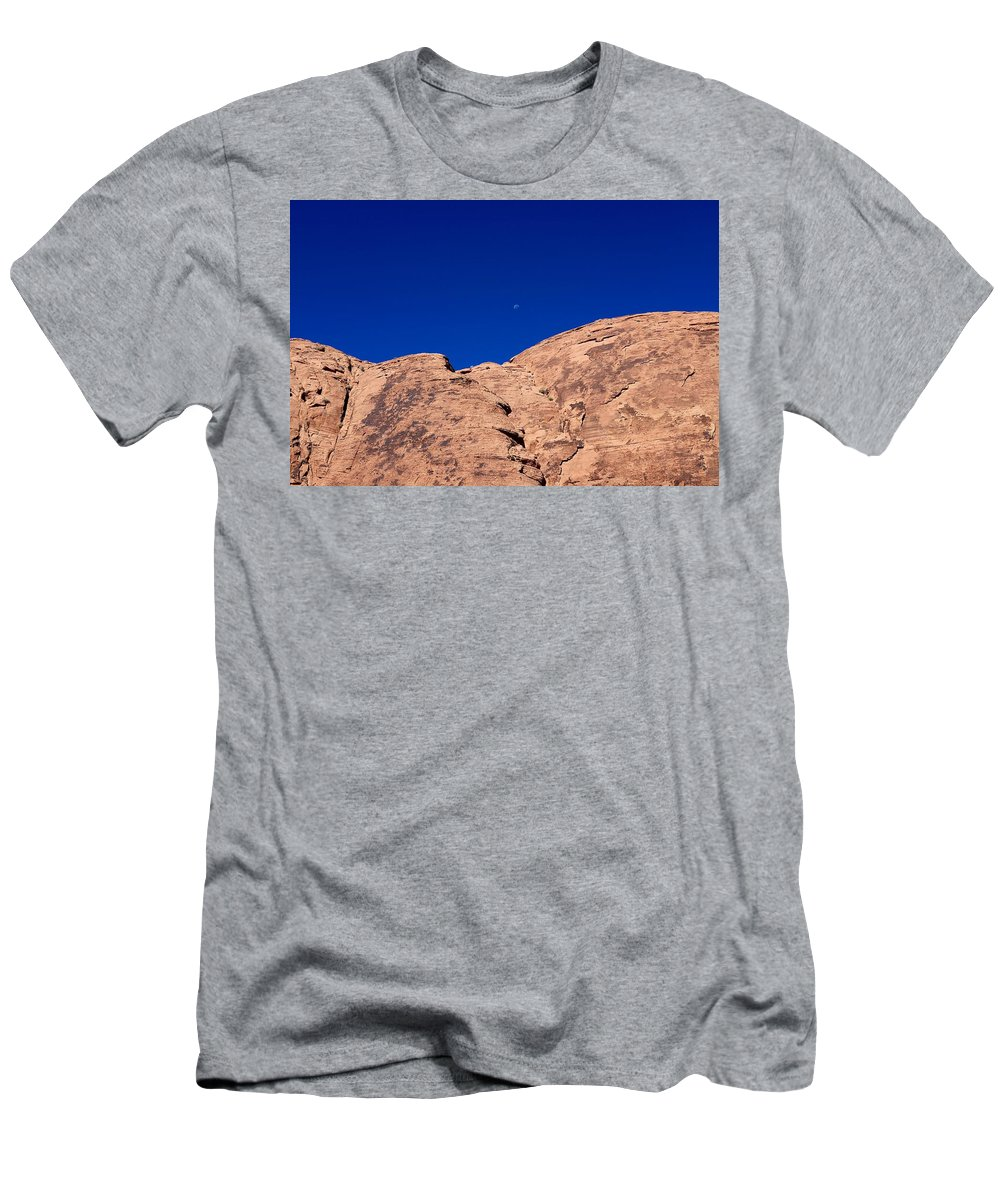 Valley Of Fire State Park Men's T-Shirt (Athletic Fit) featuring the photograph Valley Of Fire State Park by Sagittarius Viking