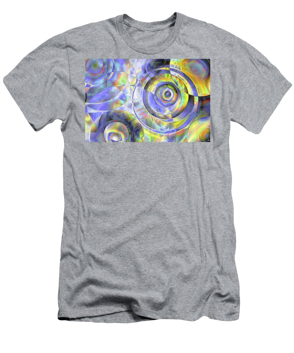 Colors T-Shirt featuring the digital art Vision 37 by Jacques Raffin