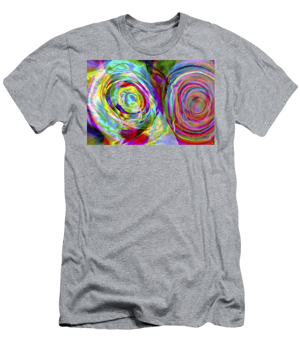 Crazy T-Shirt featuring the digital art Vision 44 by Jacques Raffin