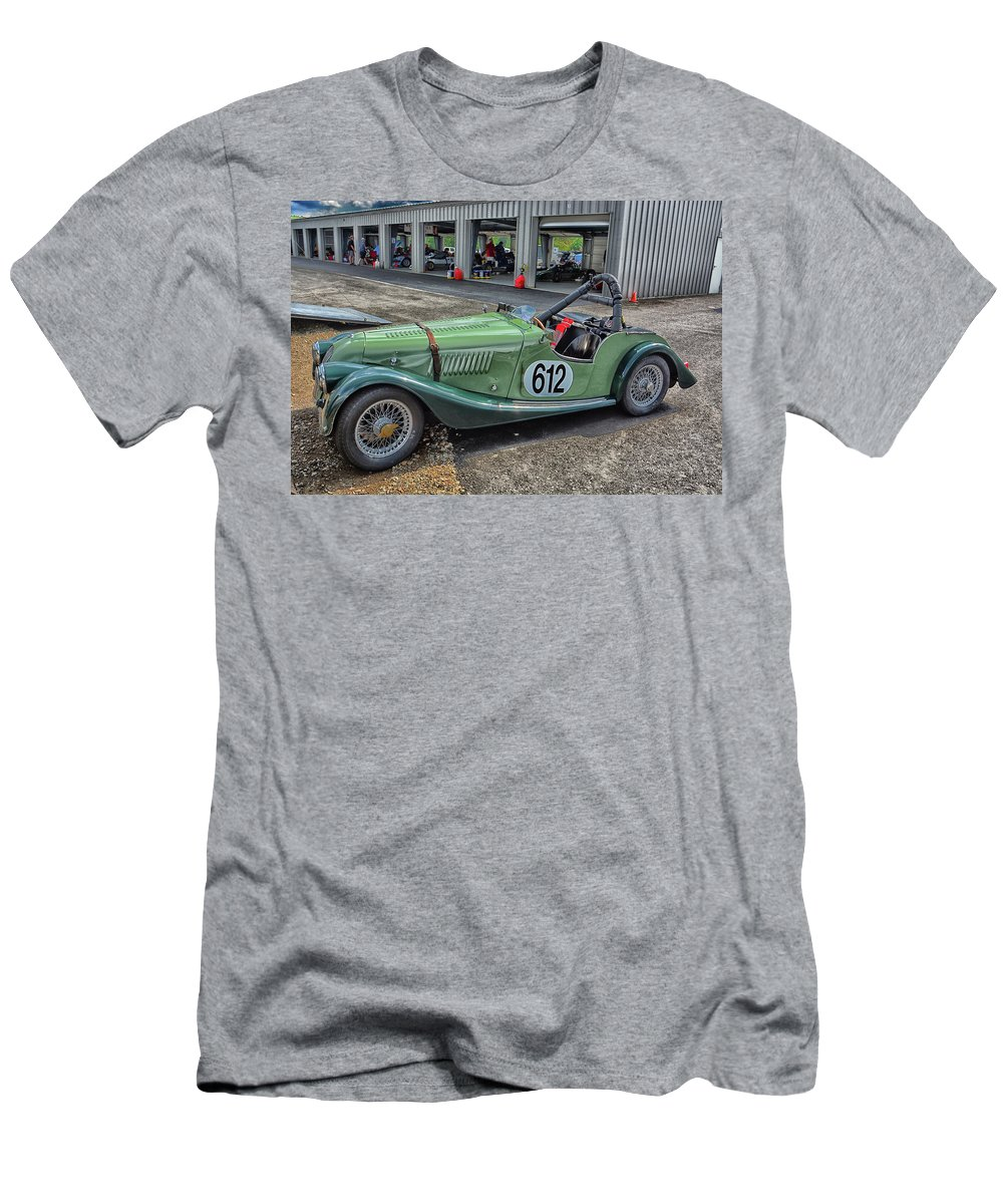 Motor Men's T-Shirt (Athletic Fit) featuring the photograph Vrg Morgan 612 by Mike Martin