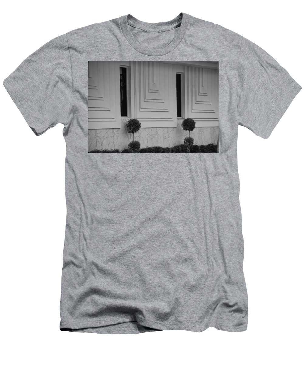 Architecture Men's T-Shirt (Athletic Fit) featuring the photograph Walls And Windows by Rob Hans