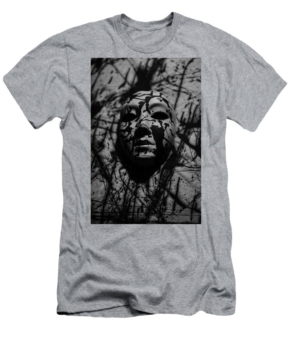 Black And White Photography Men's T-Shirt (Athletic Fit) featuring the photograph We The Living by Kirk Griffith