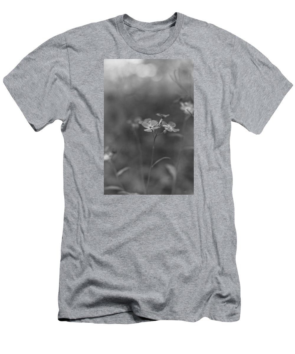 Flowers Men's T-Shirt (Athletic Fit) featuring the photograph Weed 3 by Simone Ochrym