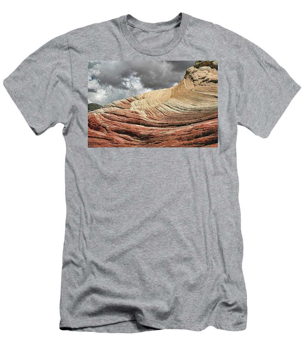 White Pocket Men's T-Shirt (Athletic Fit) featuring the photograph White Pocket # 3 by Allen Beatty