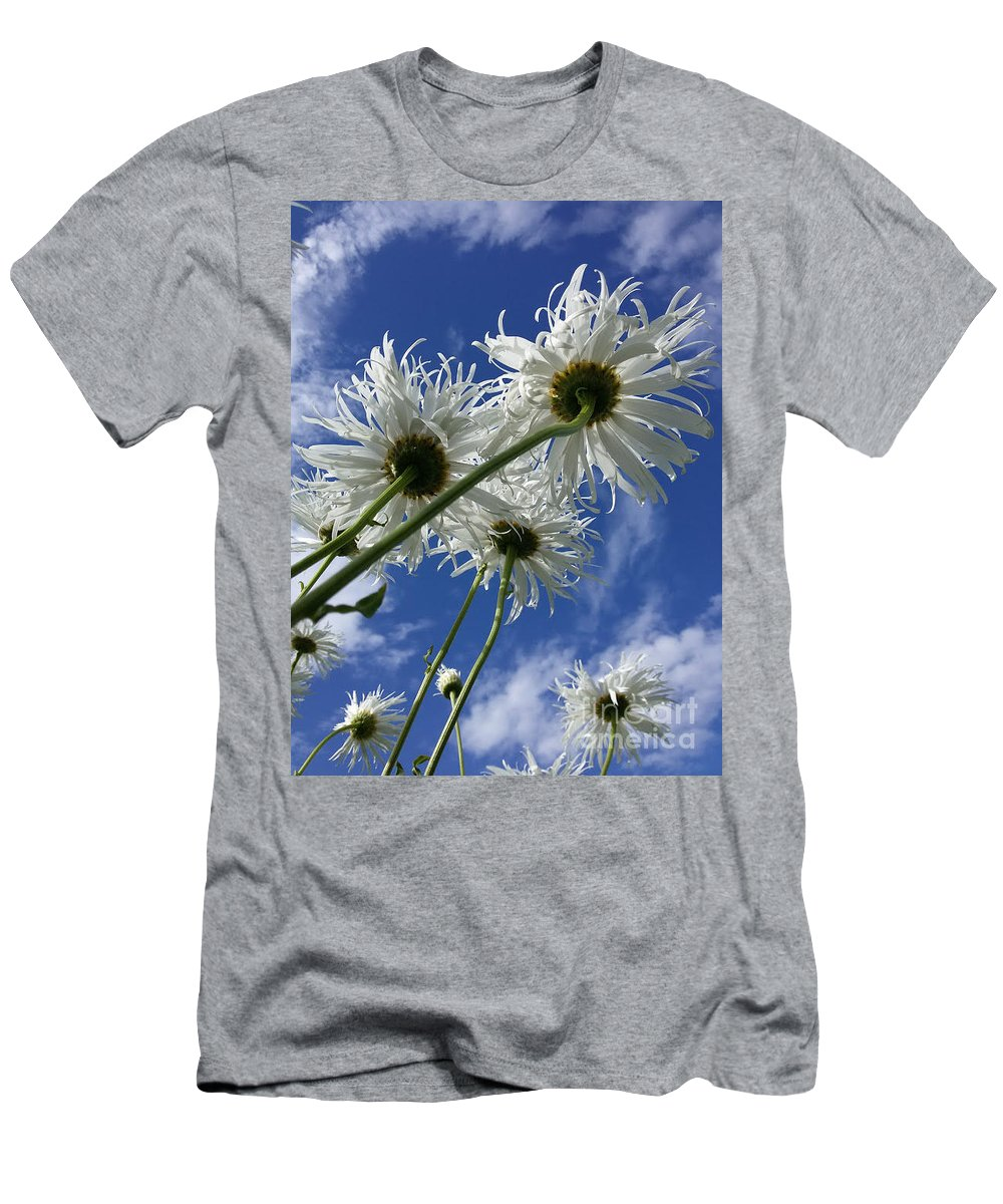 Foto Men's T-Shirt (Athletic Fit) featuring the photograph Who Is The Whitest by Elena Nikolaenko