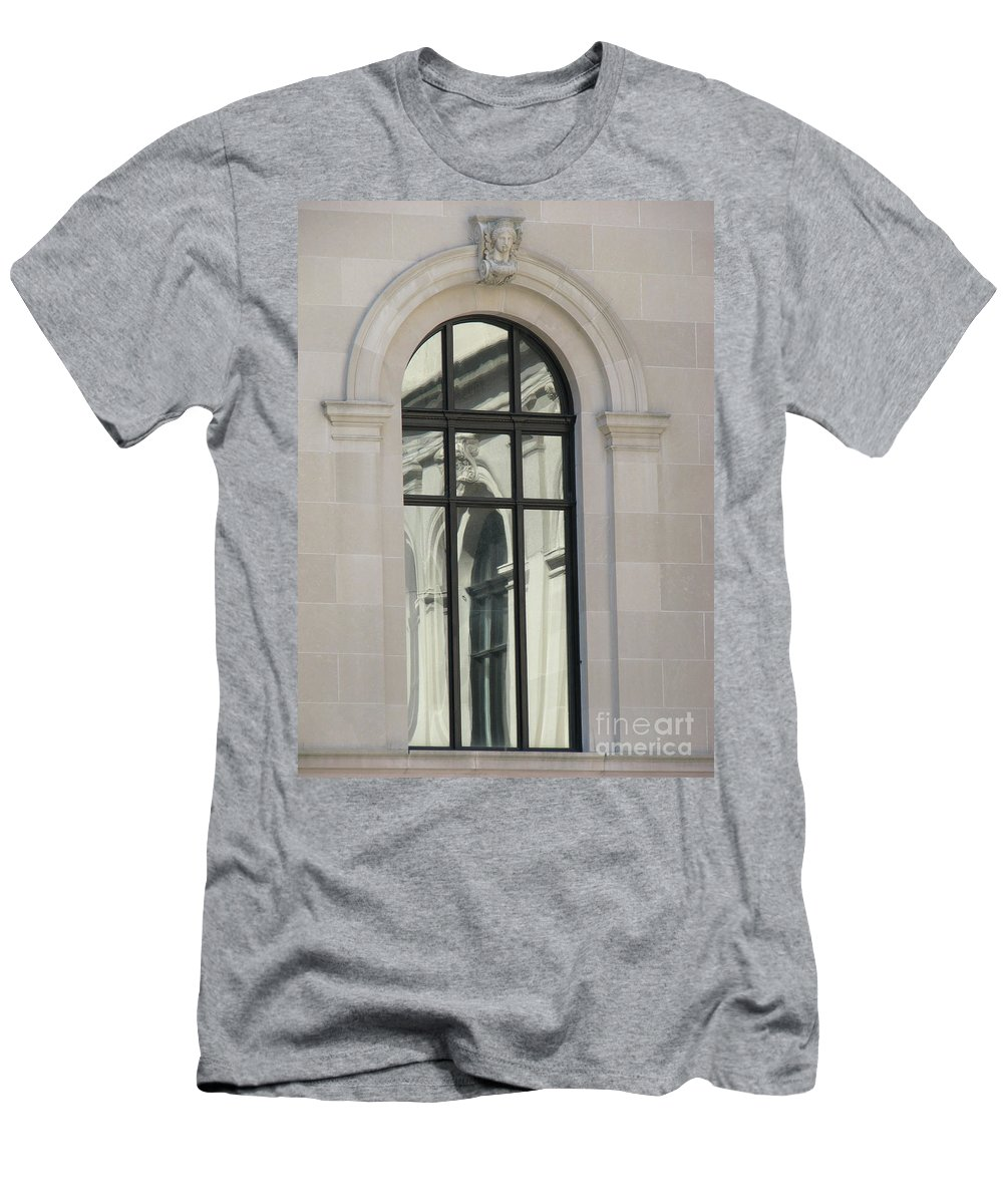 Windows Men's T-Shirt (Athletic Fit) featuring the photograph Window by Amanda Barcon
