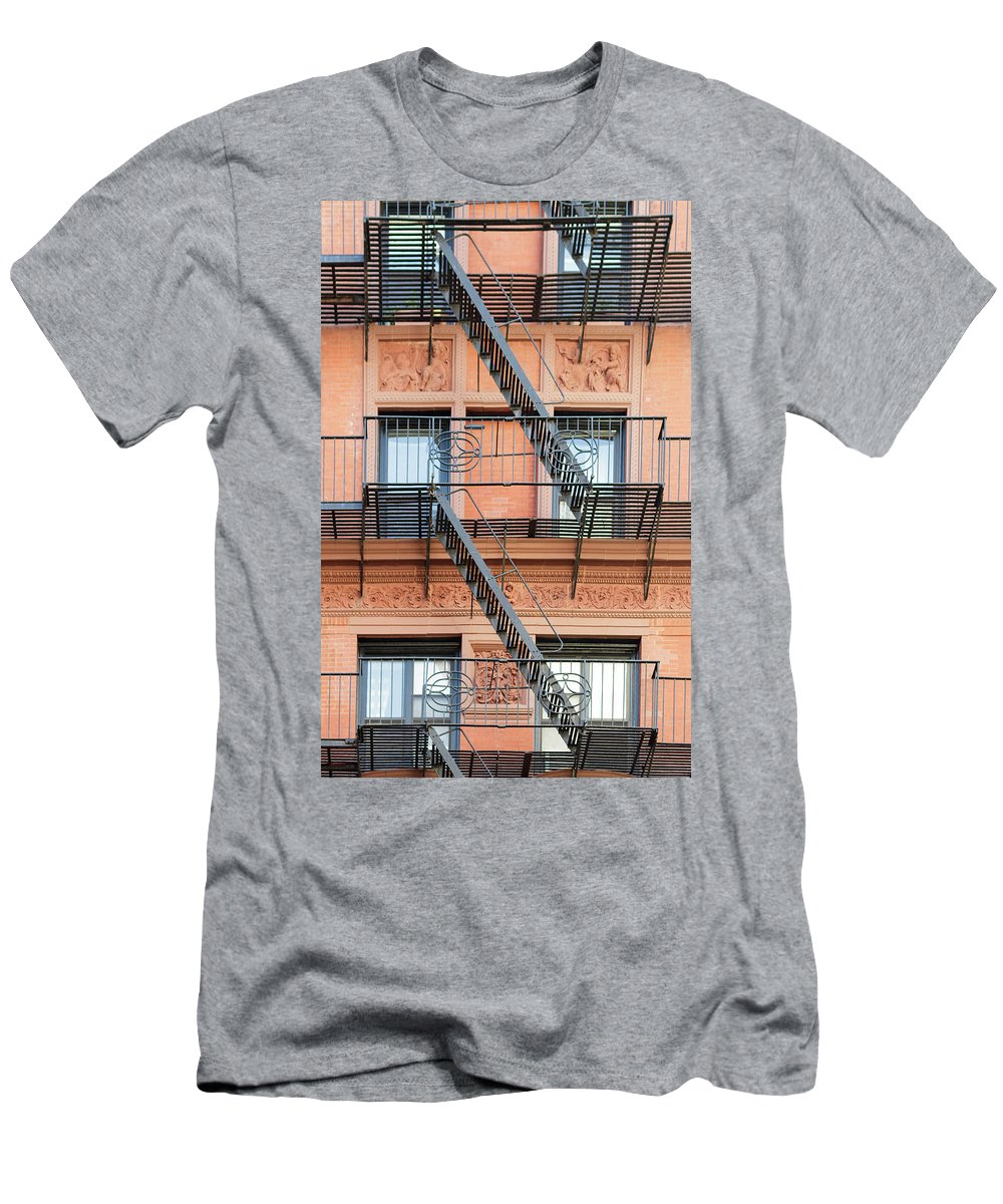 Windows Men's T-Shirt (Athletic Fit) featuring the photograph Windows by Silvia Bruno