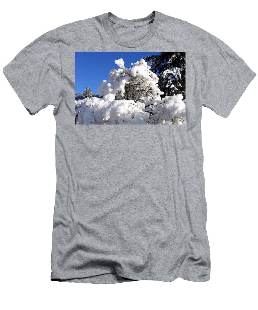 Winter Men's T-Shirt (Athletic Fit) featuring the photograph Winter Cotton by Will Borden