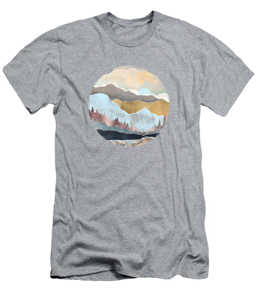 Winter T-Shirt featuring the digital art Winter Light by Spacefrog Designs